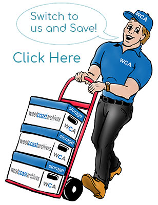save on your next storage bill when you switch to WCA