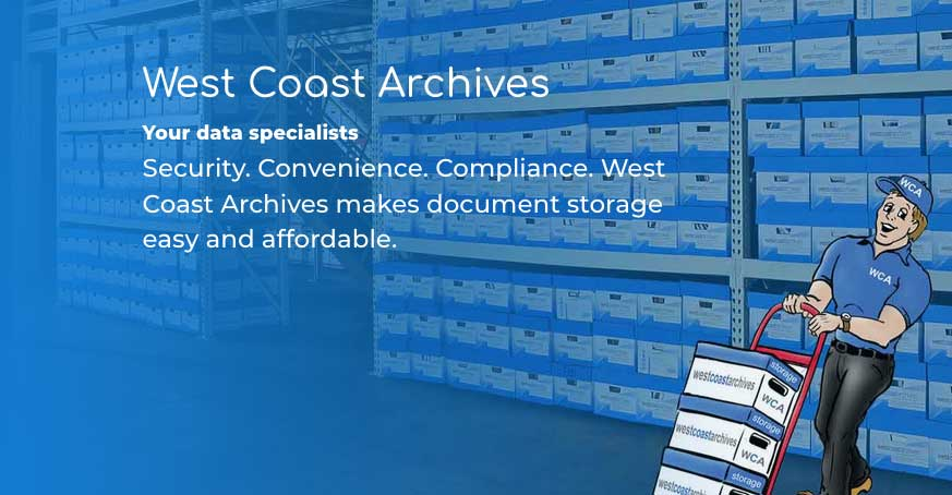 West Coast Archives new home page